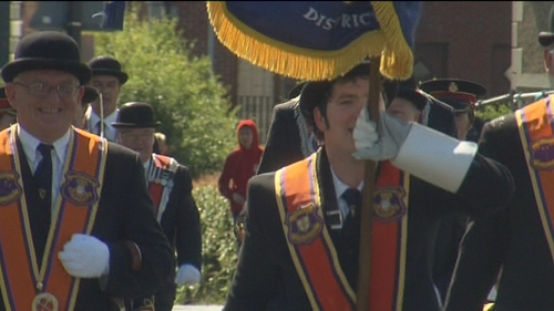 Drumcree parade - Held on the Sunday before 12 July