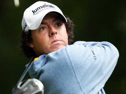 Rory McIlroy is setting the early pace
