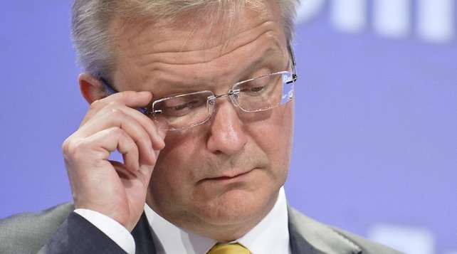 European Commission Olli Rehn gives updated health checks on 13 euro zone countries