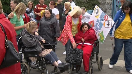 Disability campaigners - Concern for frontline services