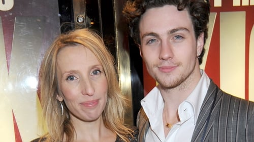 Aaron Taylor-Johnson with wife Sam Taylor Wood