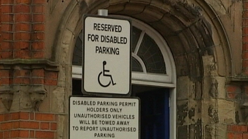 The incident is believed to have happened following a dispute over disabled parking