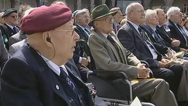 Kilmainham - Veterans attended ceremony