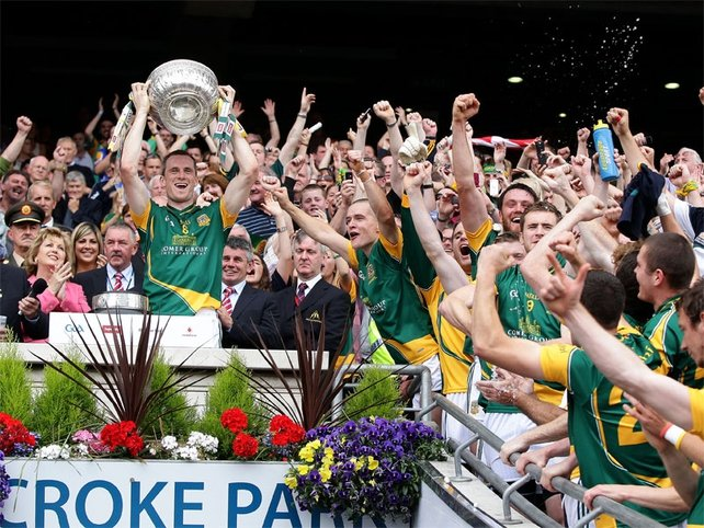 Meath players aren't keen on relinquishing the Delaney Cup they won on Sunday