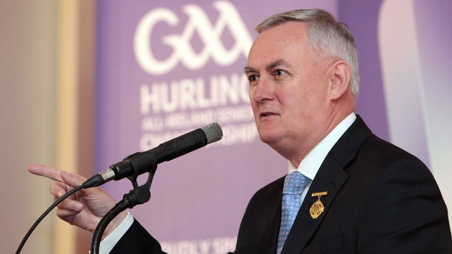 Christy Cooney - GAA President welcomed the announcement