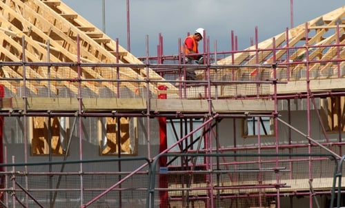 Building permits hit their highest level in six years in US.