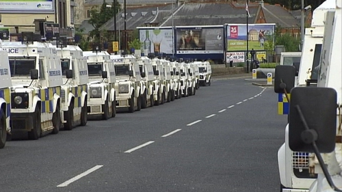 Ardoyne - Trouble in the area on 12 July