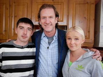 Take on the Takeaway: Christopher Nolan, Paul Rankin and Lisa Nolan.