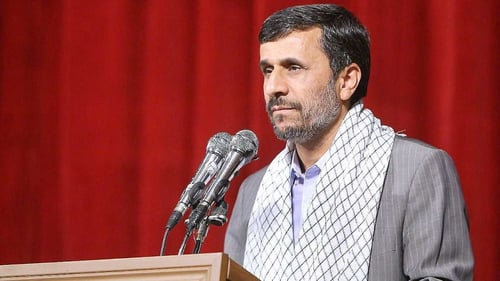 Mahmoud Ahmadinejad - Insists that Iran's nuclear programme is peaceful