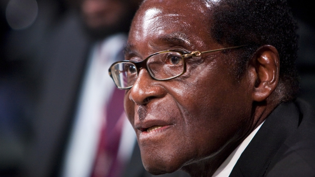 Robert Mugabe - 'Will not listen to those advocating' for gay rights