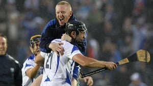 Flashback to 2010 and Mullane celebrates a Munster final victory over Cork