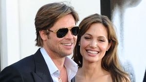 Brad Pitt and Angelina Jolie in happier days, back in 2010.