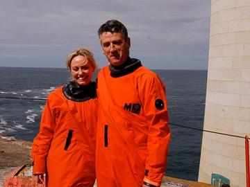 Clodagh McKenna and Neilly O'Reilly