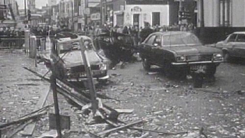 Bombs went off without warning in Dublin and Monaghan in 1974