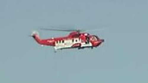 Coastguard - Search on for missing fishermen