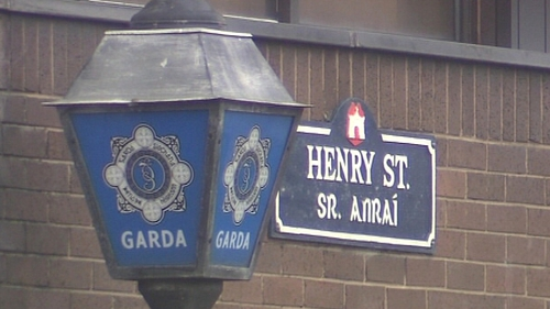 A woman is being held at Henry Street Garda Station