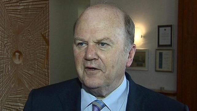 Michael Noonan was speaking at the 78th Fine GaelArd Fheis