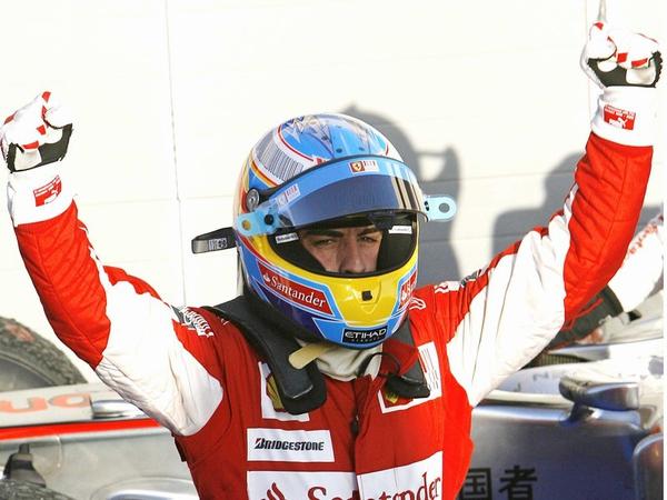 Fernando Alonso also won in Bahrain