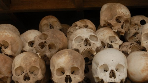 Cambodia - 1.7m people killed by Khmer Rouge