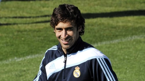 Raul scored 323 goals for Real Madrid before moving to Schalke