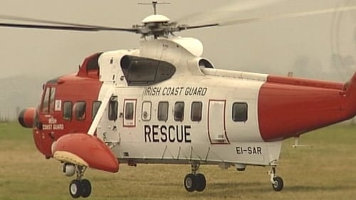 Clare - Coast Guard involved in search