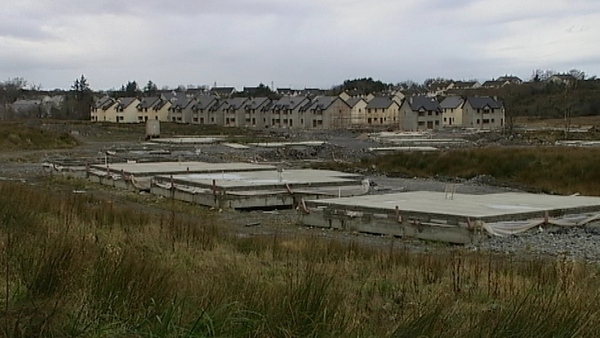 Ghost estates - Hundreds of thousands of empty houses in Ireland