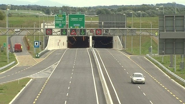 The Government is now considering abolishing the Limerick Tunnel toll