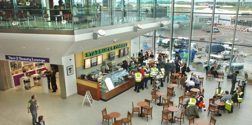 Dublin airport - passenger numbers fall