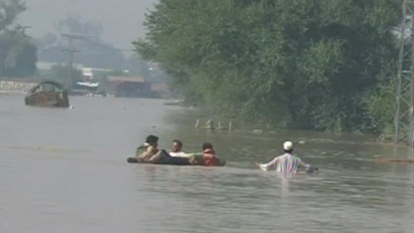 Pakistan - Three days of torrential rain
