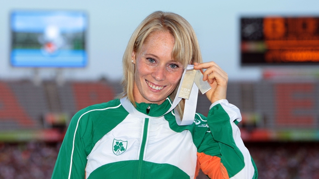 Derval O'Rourke - Added to her medal collection on Saturday