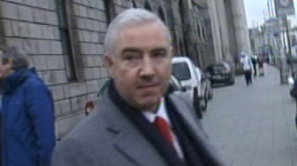 Receiver was appointed to Mr Dunne's properties in late July