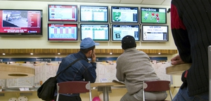 Stakes in UK betting shops down 4.9% in third quarter
