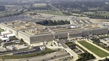 The Pentagon announced that the US military carried out an air strike targeting Mullah Akhtar Mansour