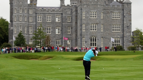 A view of the final hole at Killeen Castle