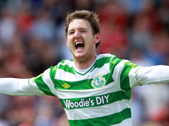 Gary Twigg was on the mark again for the Hoops