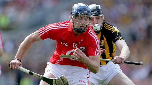 James Ryall in action for Kilkenny against Cork in the 2006 All-Ireland final