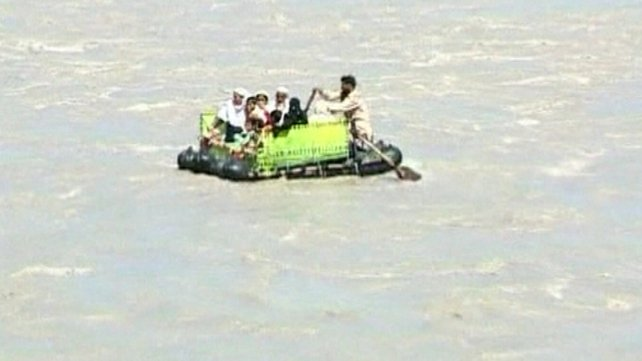 Pakistan - Flooded by torrential monsoon rains