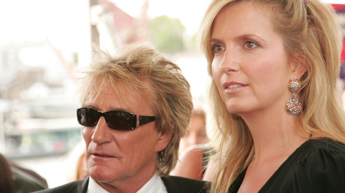 Rod Stewart and Penny Lancaster - expecting second child