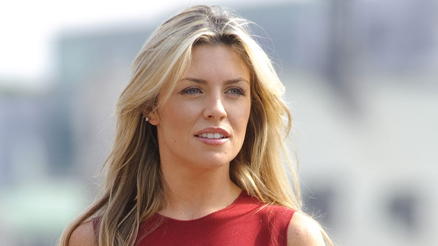 Abbey Clancy - a guest on Jonathan Ross