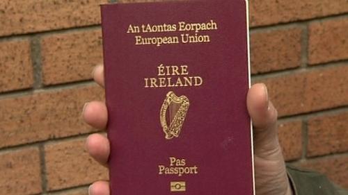 Passports - Forged Irish ones used in murder of Hamas operative