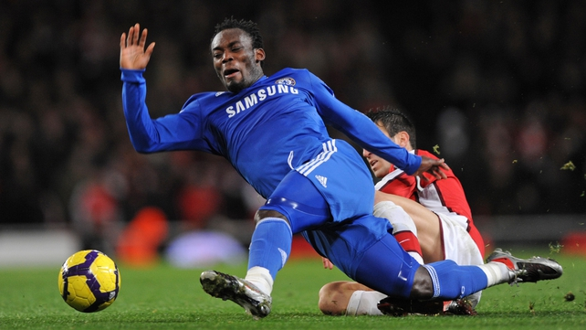 Michael Essien joined Chelsea in 2005