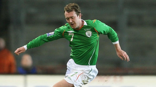 Aiden McGeady - The Republic of Ireland winger is set for two months out