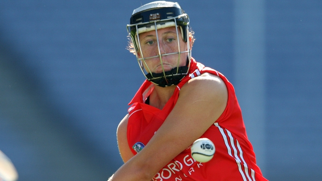 Skipper Gemma O'Connor inspired Cork to victory against Galway in Sixmilebridge