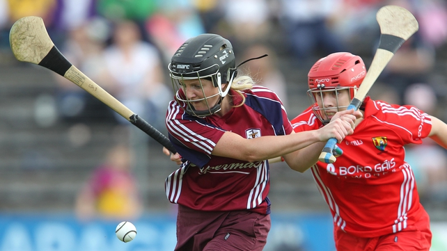 Veronica Curtin - hit the winning point as Galway overcame Kilkenny