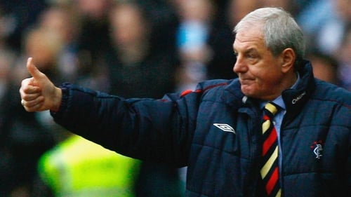 Walter Smith enjoyed immense domestic success as Rangers manager