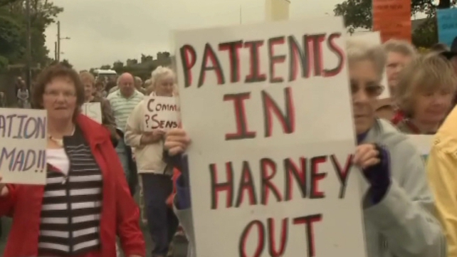 Dingle - Protest march