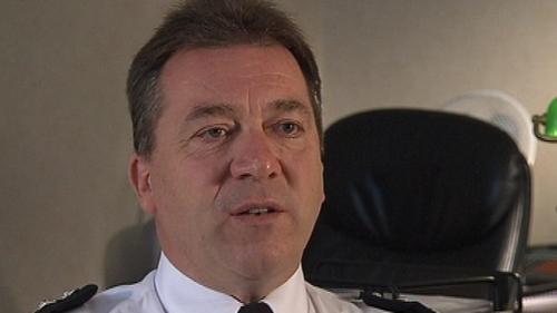 Matt Baggott - Policing not enough to deal with dissident activities