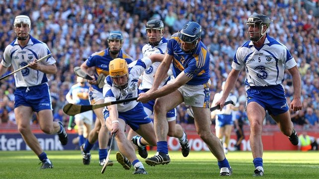 Tipp's Eoin Kelly scores his first goal in the 53rd minute