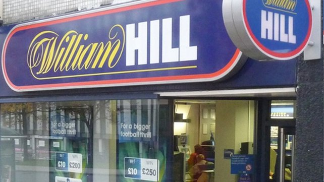 William Hill said its operating profit had fallen by 14% in the first quarter of 2014