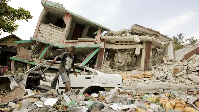 Haiti - Much of the capital still in ruins